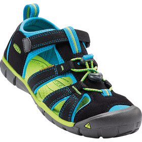 Keen Seacamp II CNX Sandals Kids black/blue danube